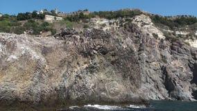 大岩石在海HD 股票视频