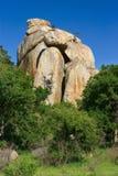 大岩石 库存图片