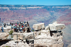 大峡谷南外缘在亚利桑那 免版税库存图片