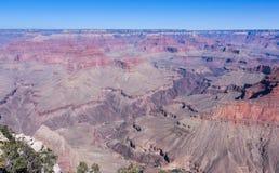 大峡谷和科罗拉多河。 库存图片