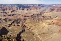大峡谷和科罗拉多河美好的风景  库存图片