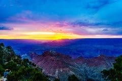 大峡谷国家公园沙漠视图城楼 免版税库存照片