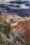 大峡谷在亚利桑那 图库摄影