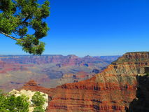 大峡谷在亚利桑那 免版税库存照片