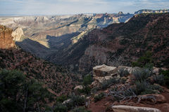 大峡谷在亚利桑那2 库存图片