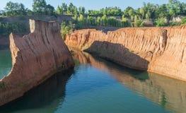 大峡谷在北泰国 免版税库存图片