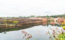 大峡谷在清迈,泰国 免版税库存图片