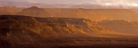 大峡谷在西藏 库存图片