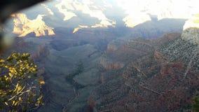 大峡谷壁架 免版税图库摄影