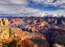 大峡谷日出,亚利桑那 图库摄影