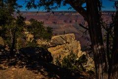 大峡谷的峭壁 免版税库存照片