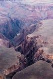 大峡谷的底部在美国 免版税库存图片