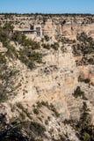 大峡谷的监视演播室 库存照片