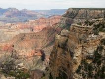 大峡谷的纯粹峭壁在亚利桑那 库存照片