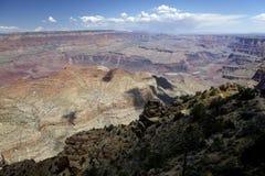 大峡谷的视图 免版税库存照片