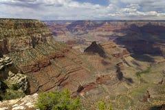 大峡谷的视图 库存图片