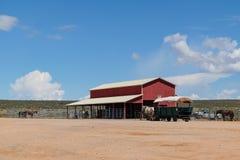 大峡谷的Hualapai大农场 库存图片