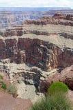 大峡谷西部外缘在亚利桑那,美国 免版税库存图片