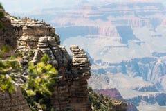 大峡谷观点  库存图片