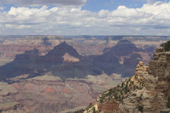 大峡谷视图从南外缘的 免版税库存照片