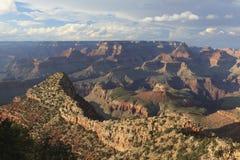 大峡谷视图从南外缘的 库存图片