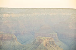 大峡谷颜色 免版税库存照片