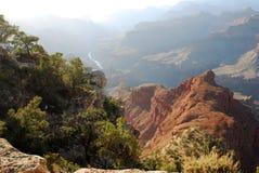 大峡谷风景 库存图片