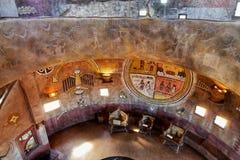 大峡谷,亚利桑那-手表塔内部 免版税库存图片