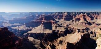 大峡谷Tonto平台,霍皮族点俯视 库存照片