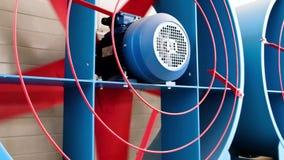 大工业通风机 冷却的工业空调装置 股票录像