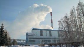 大工厂设备在冬天 股票录像
