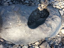 大巨型奇怪的形状的岩石 库存照片