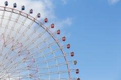 大巨型游艺集市弗累斯大转轮道路反对蓝天的 免版税库存图片