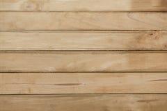 大布朗木板条墙壁纹理背景 图库摄影
