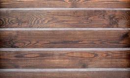大布朗木头板条 免版税库存照片