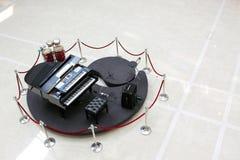 大平台钢琴&数字式钢琴 免版税库存图片