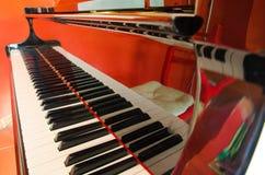 大平台钢琴 图库摄影