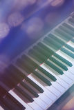 大平台钢琴 库存照片