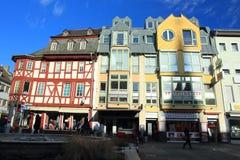 大广场在巴特克罗伊茨纳赫 免版税库存照片