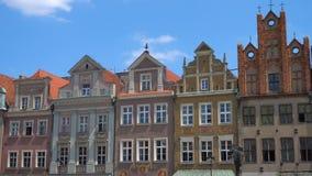 大广场城市波兹南Rynek看法  影视素材
