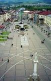 大广场, Banska Bystrica,斯洛伐克 库存照片
