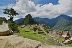 大广场 Machu Picchu 秘鲁 库存照片