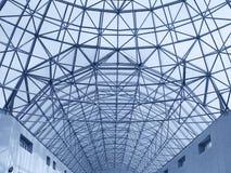 大建筑屋顶 免版税库存照片