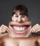 大微笑 免版税库存照片
