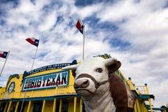 大德克萨斯的牛排大农场 免版税图库摄影
