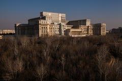 大房子在布加勒斯特 免版税库存照片