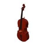 大提琴乐器3d例证 免版税库存照片