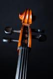 大提琴细节 图库摄影