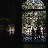 大教会门 免版税库存照片