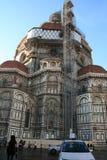 大教堂中央寺院佛罗伦萨意大利维修服务 图库摄影